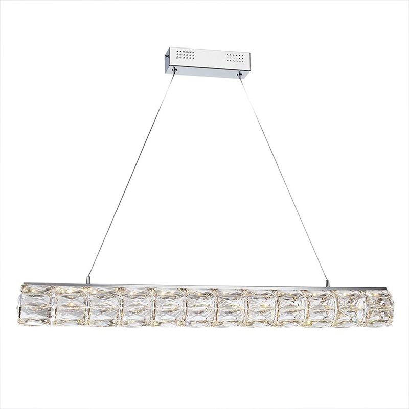 Kitchen Island Lighting - crystal hoop LED Pendant Bar