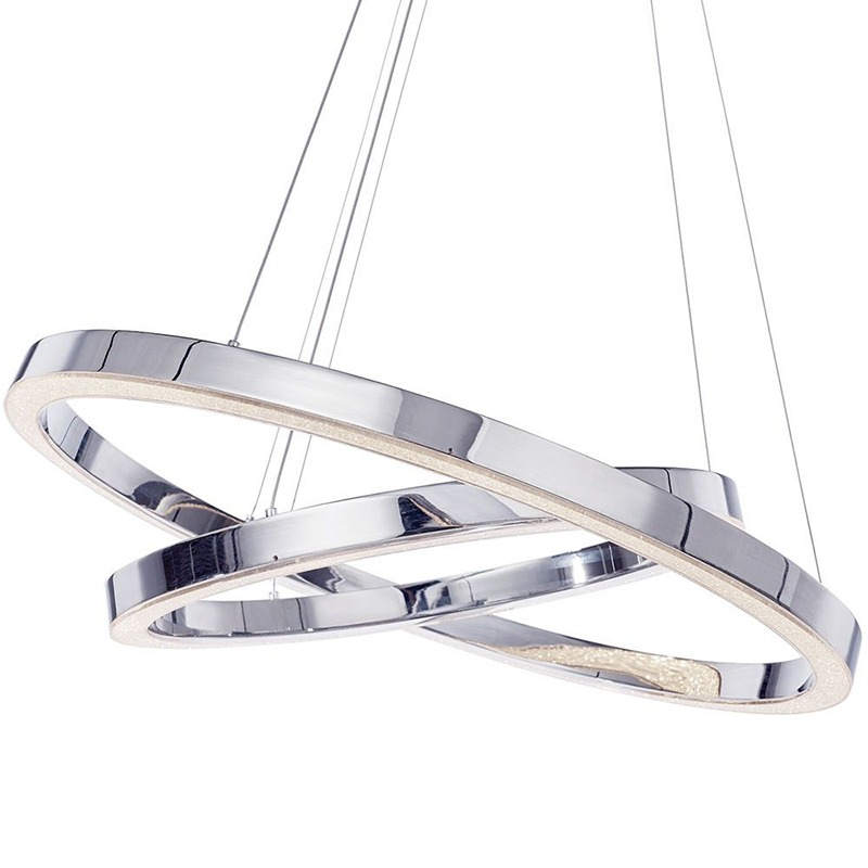 double ring pendant light for kitchen island