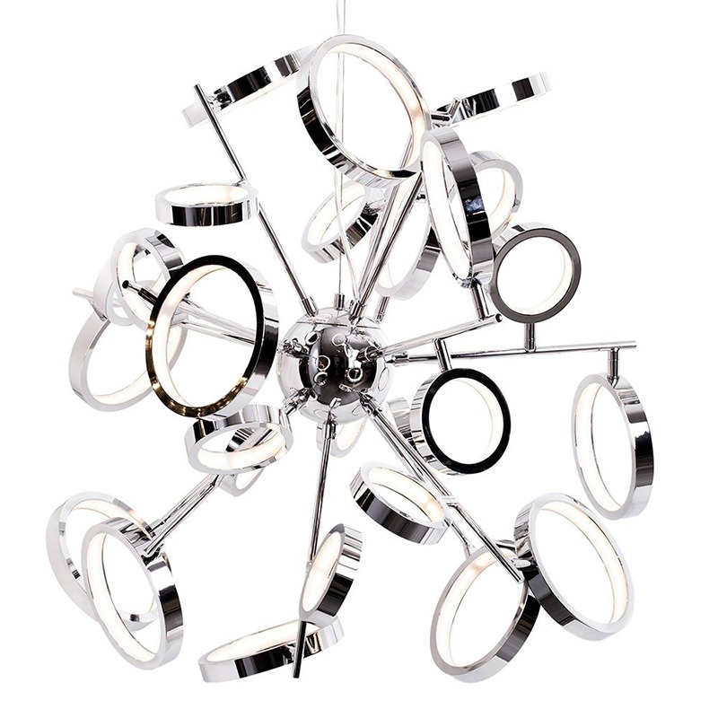 Large Kitchen Island Lighting - ring shades pendant