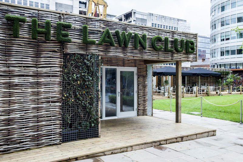 Alfresco Interiors - The Lawn Club Front Exterior
