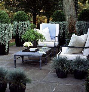 Outdoor Lighting Monochrome Alfresco Succulents