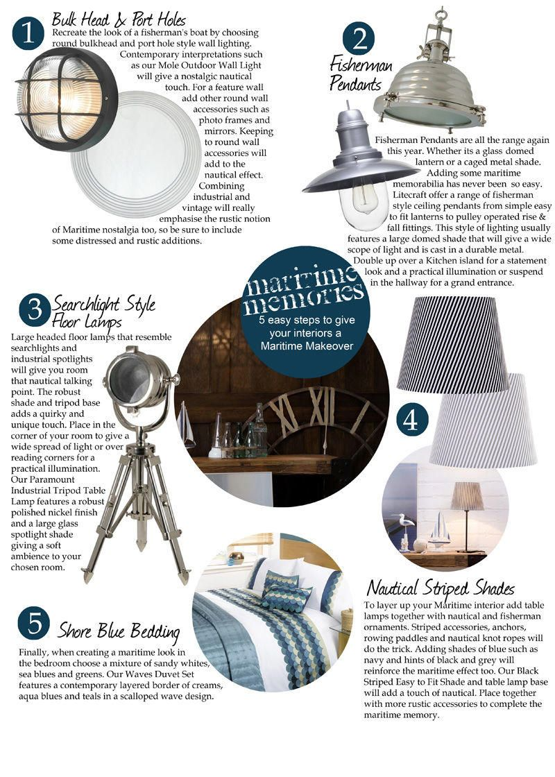 How to give your interiors a Maritime Makeover