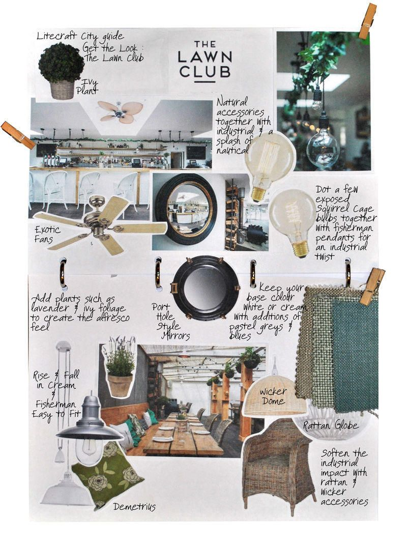 The Lawn Club Look Book interiors inspiration