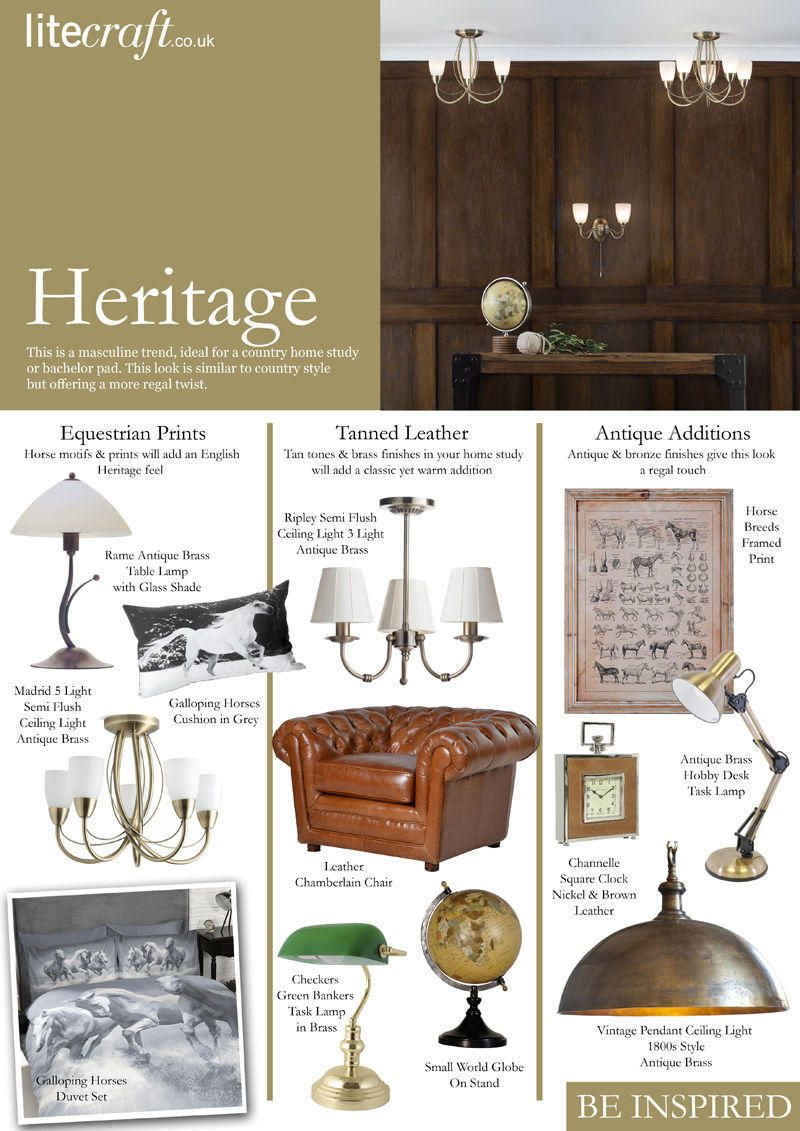 Heritage Style Lighting and Accessories