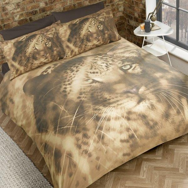 Big Cat Double Duvet Set