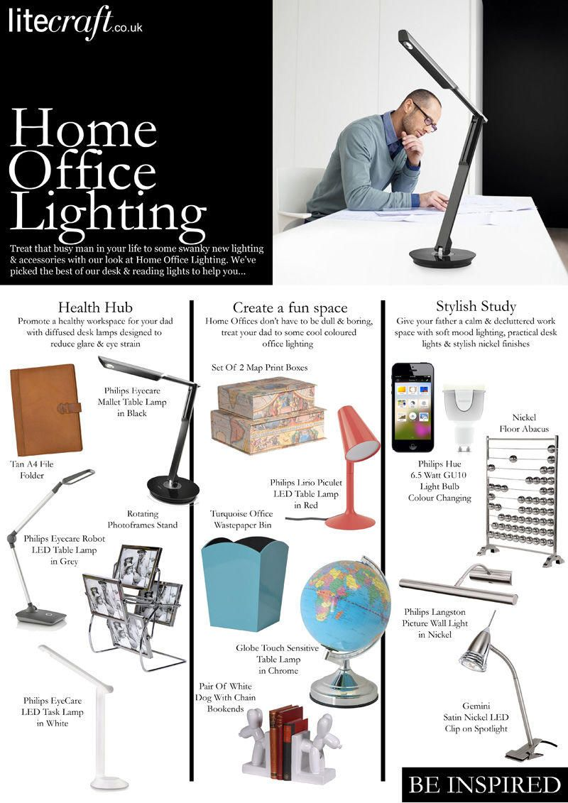 Fathers Day Home Office Lighting Ideas