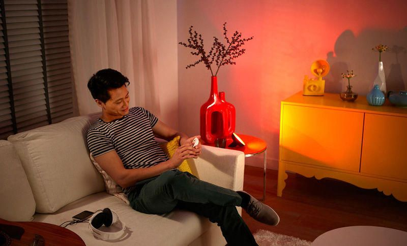 Lighting Gift Ideas Philips Friends of Hue Bloom Wireless LED Table Lamp