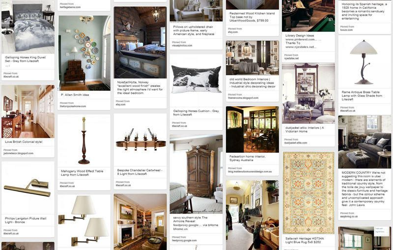Heritage Style Lighting Pinterest Board