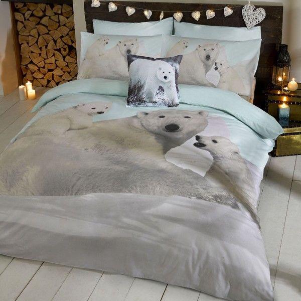 Polar Bear Double Duvet Set