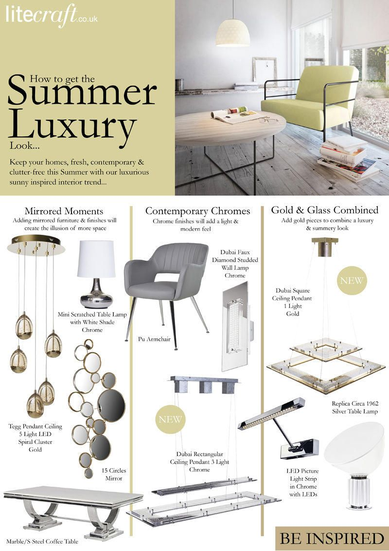 How to get the Summer Luxury Interior Look