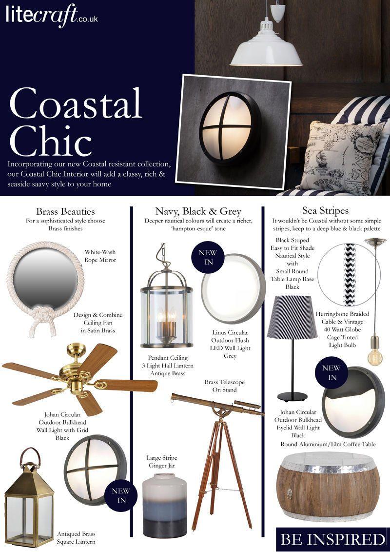 Be Inspired : Coastal Chic Interior Inspiration