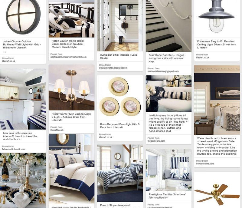 Be Inspired : Coastal Chic Interior Inspiration