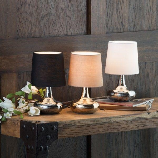 Mini Scratched Table Lamps