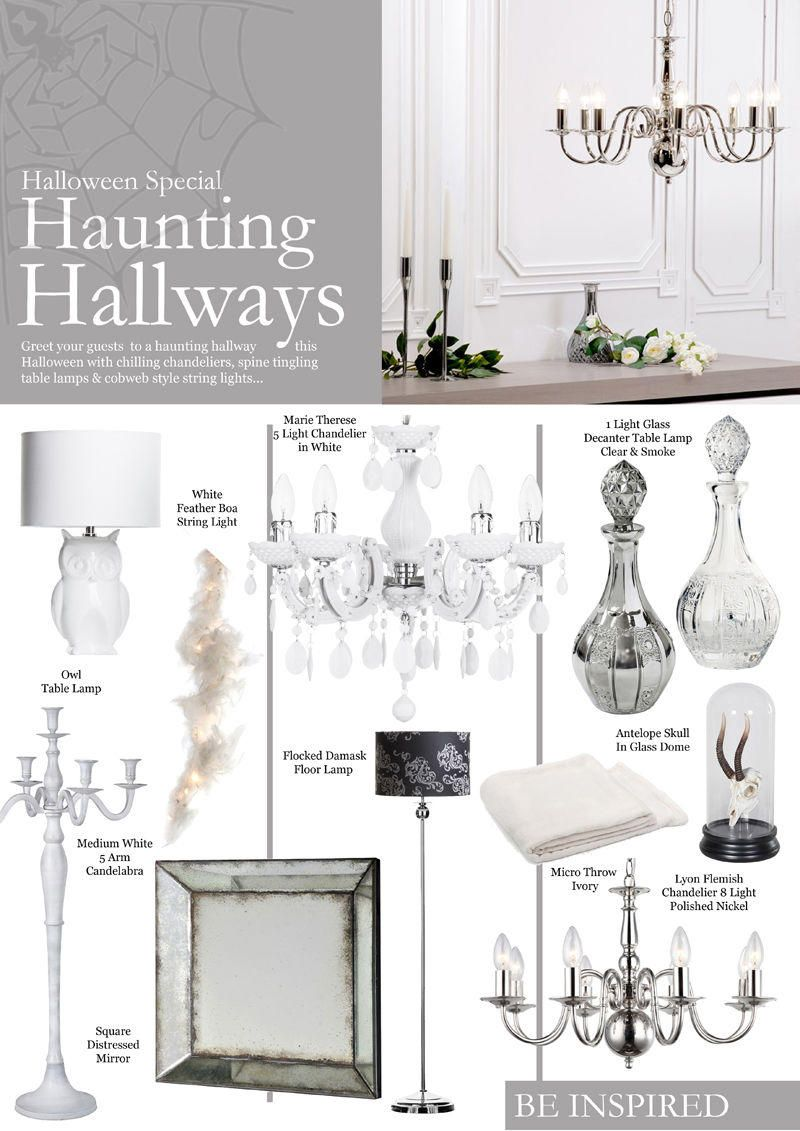Haunting Hallway décor Look Book
