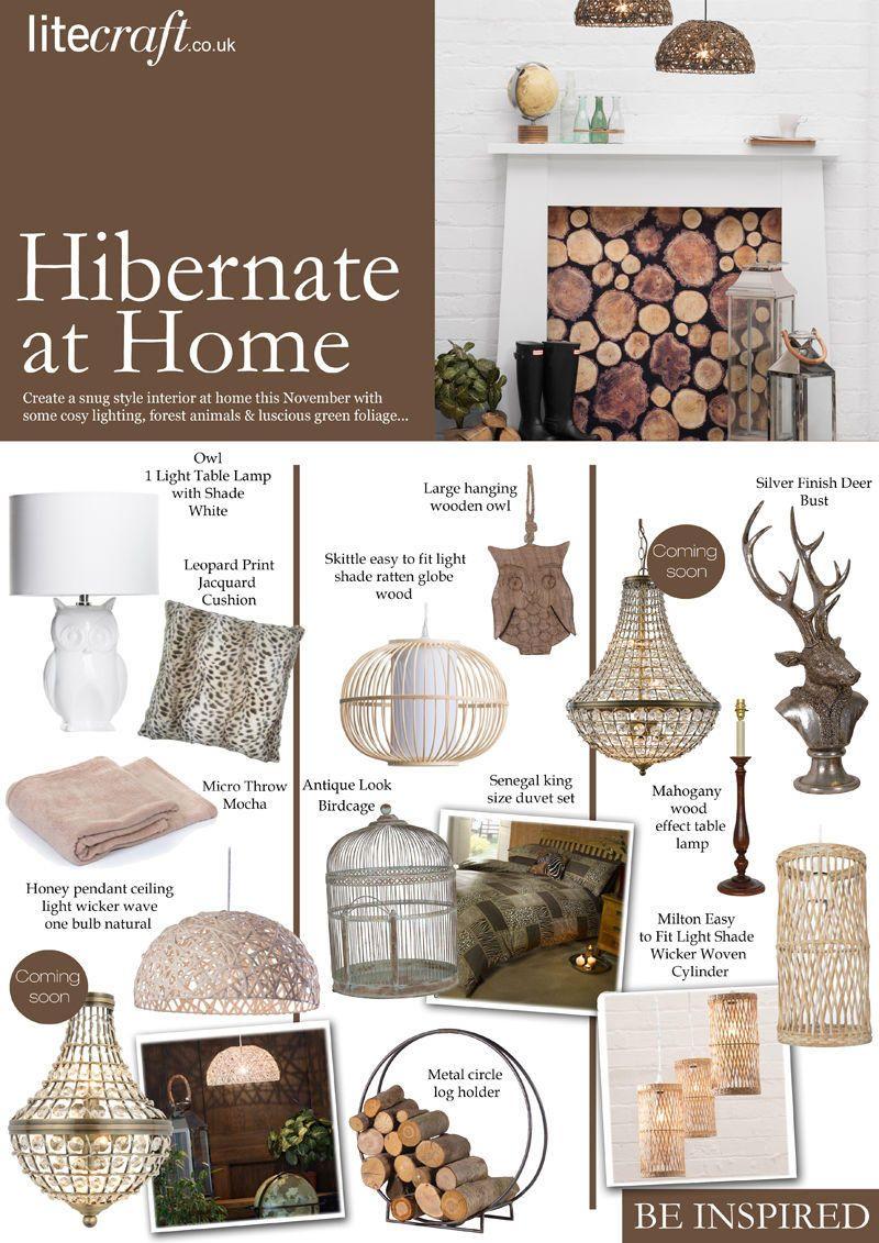 Be Inspired Hibernate at Home Look Book
