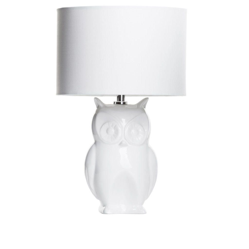 Hallway décor : New Owl Table Lamp