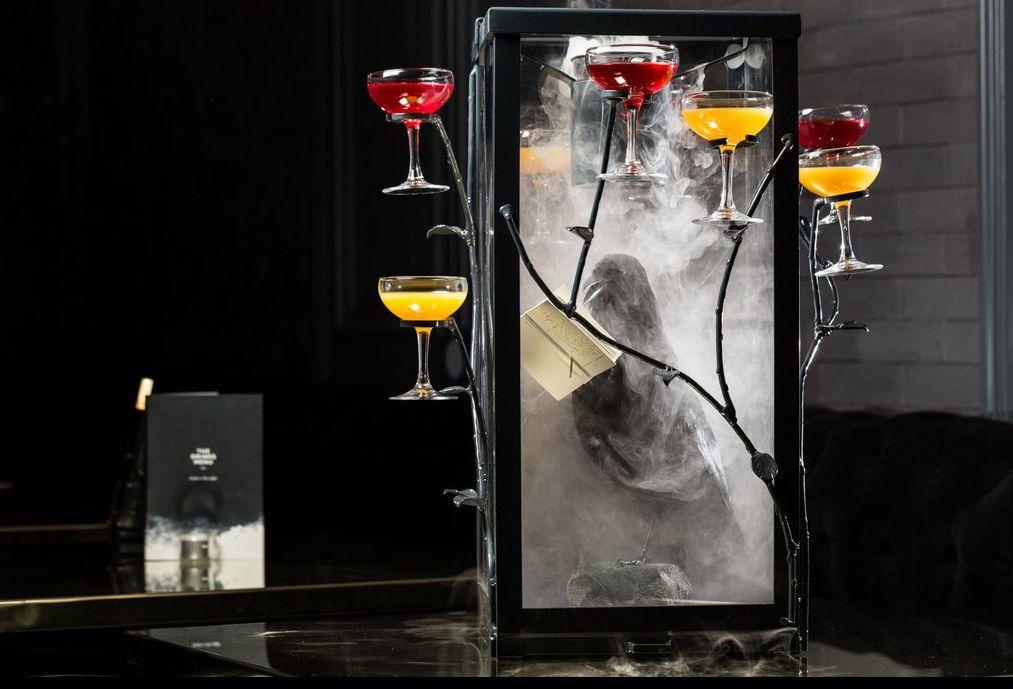 Quill Cocktail Bar Interior
