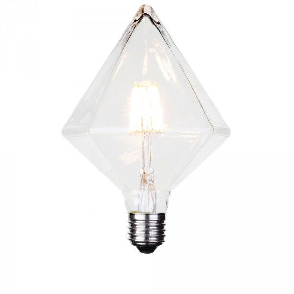 6 Watt E27 Dimmable Decorative Filament LED Diamond Light Bulb