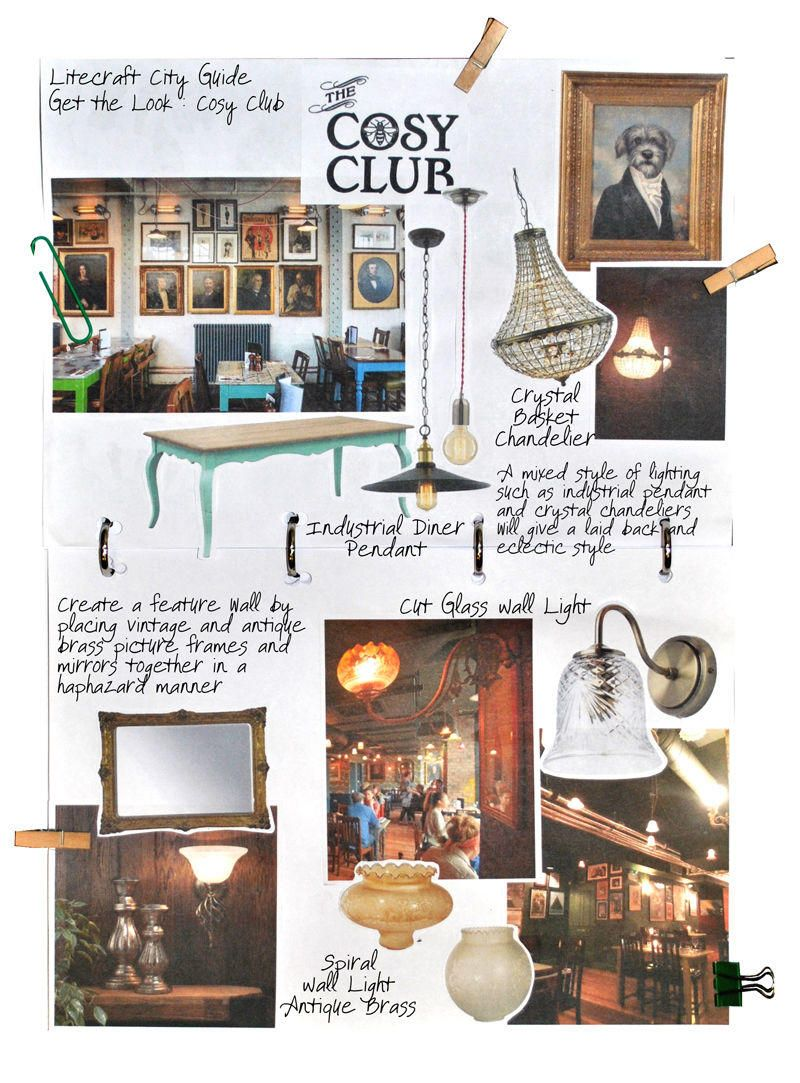 Cosy Club Interior Look Book