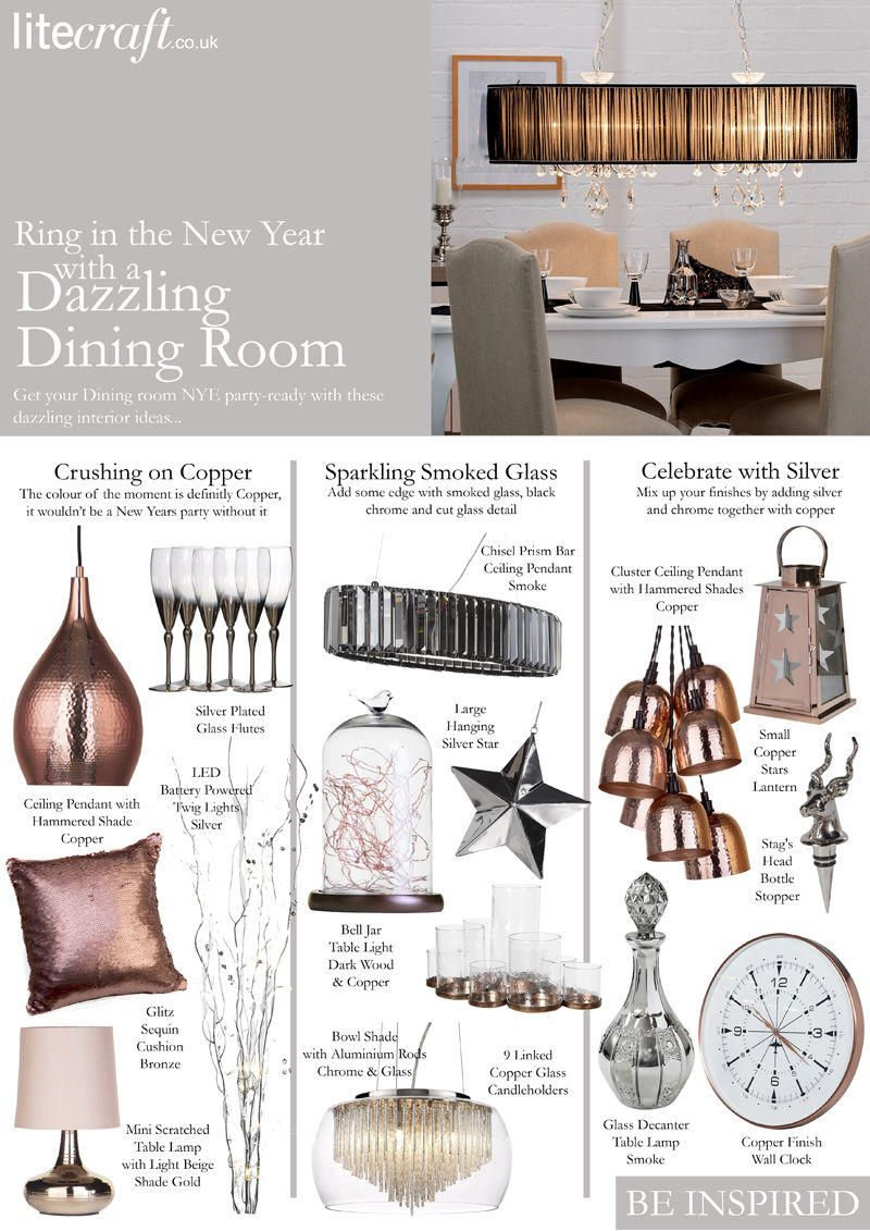 A New Year Dazzling Dining Room