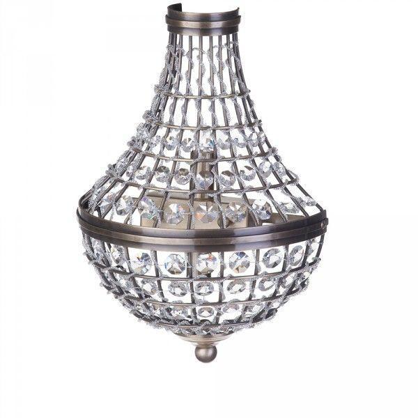 Crystal Basket Wall Light Chandelier