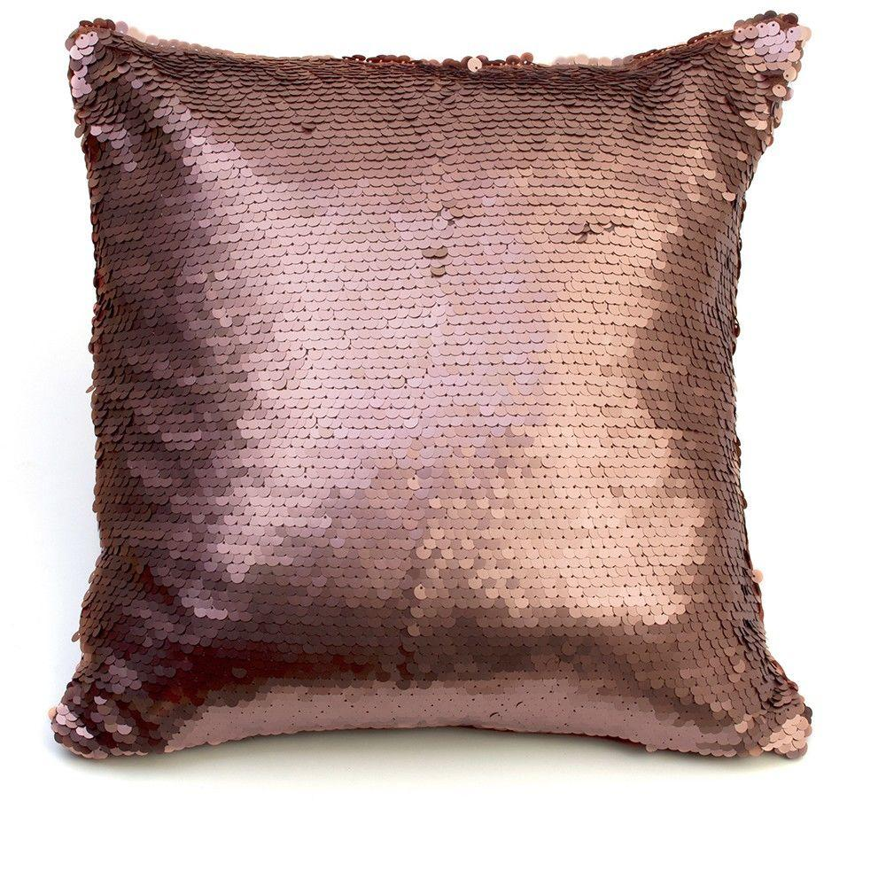 Glitz Sequin Cushion - Bronze - A New Year Dazzling Dining Room