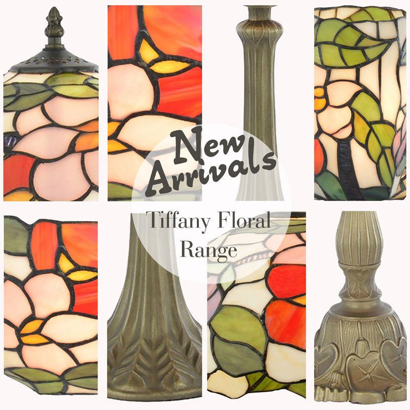 New Arrivals Tiffany Floral Range