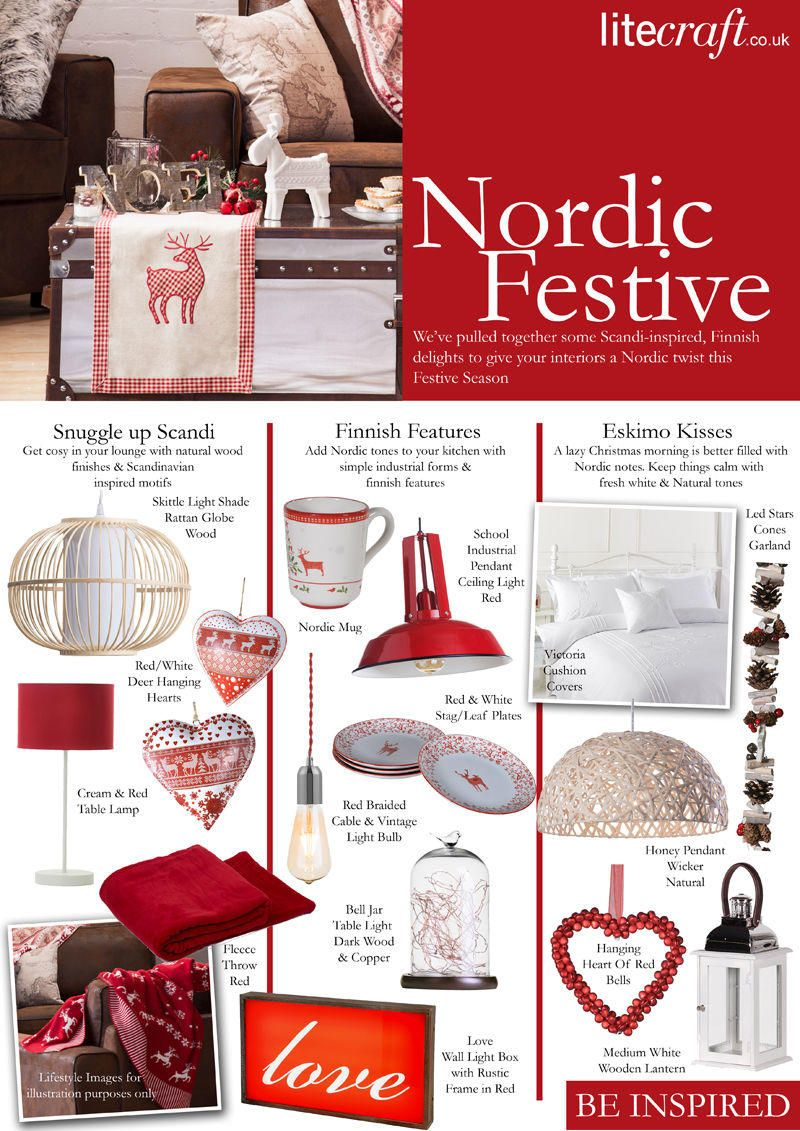 Be Inspired : Nordic Festive Interiors