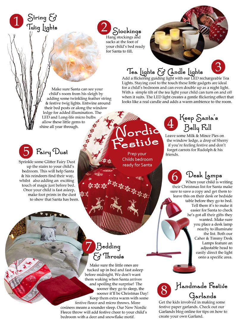 Prep your Child's bedroom ready for Santa