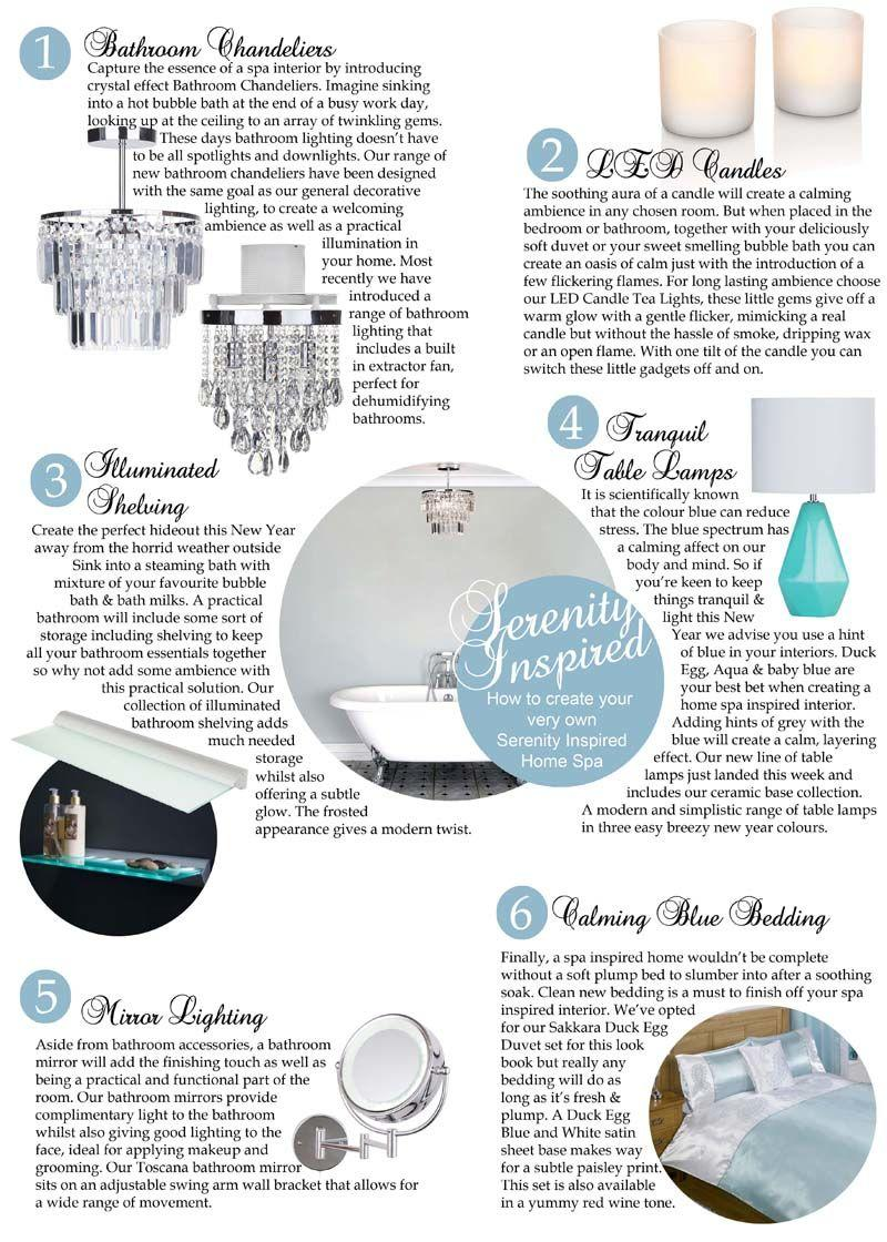 How to create your very own Serenity Inspired Home Spa