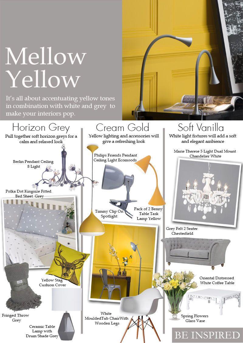 mellow yellow decor be inspired blog art