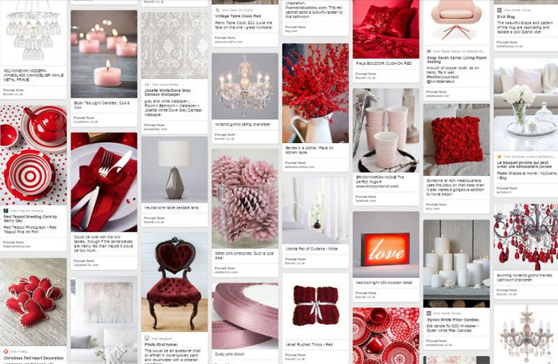interior inspirations crimson kisses pinterest mood board litecraft lighting