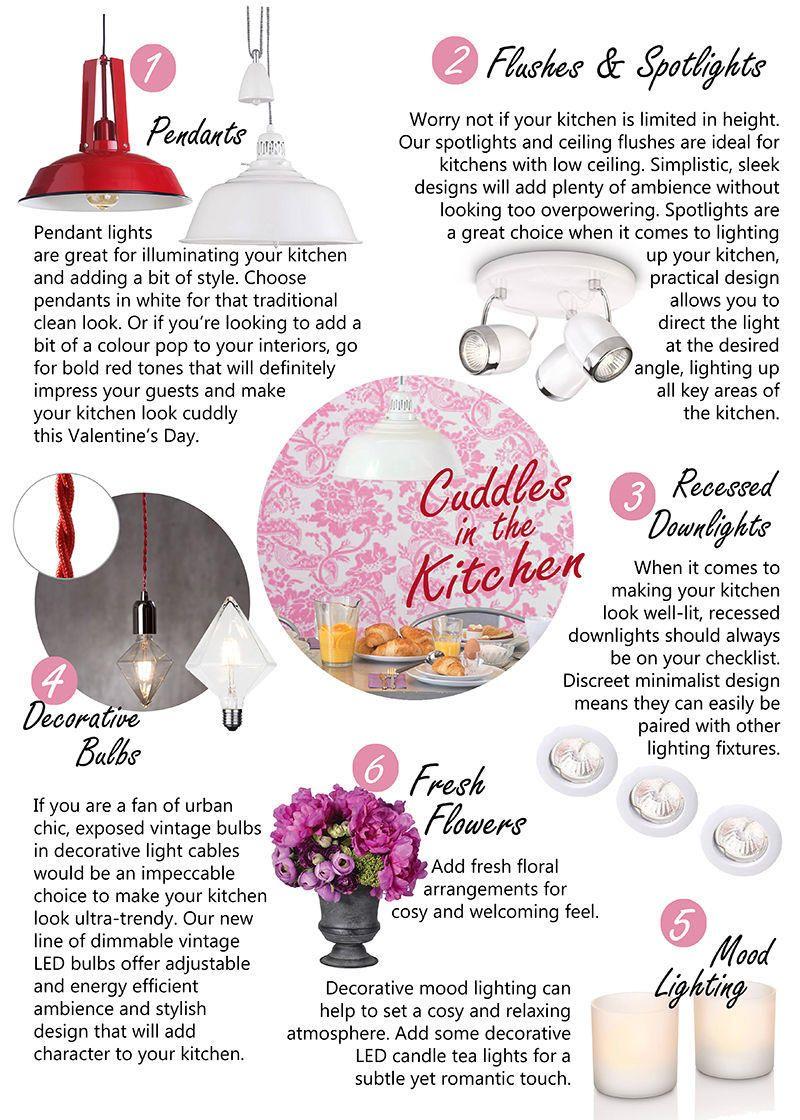 Kitchen look valentines day inspired designs