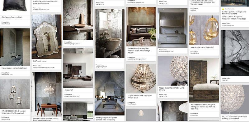 rugged luxe ceiling lights pinboard image interior inspiratior