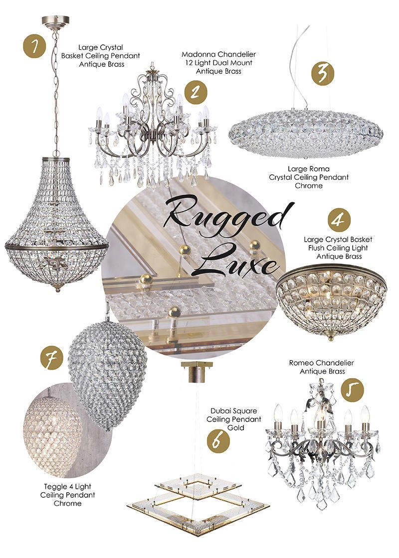 Top Picks - Rugged Luxe Ceiling Lights