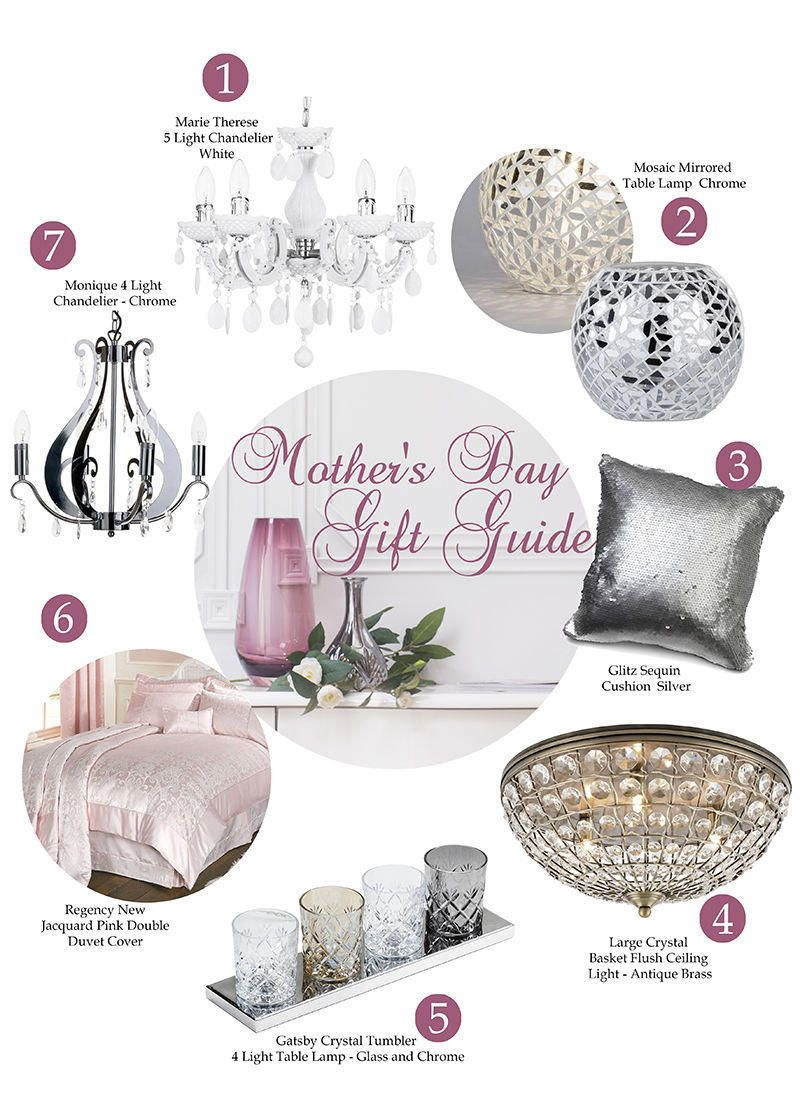 mother's day gift guide lighting accessories home decor