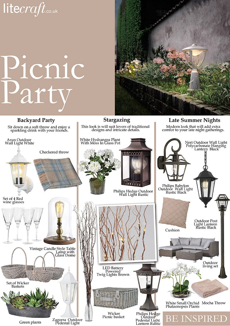 picnic party be inspired