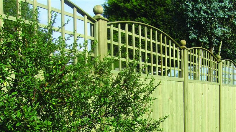 guest blog Convex Trellis Topper Panels (c) Jacksons Fencing