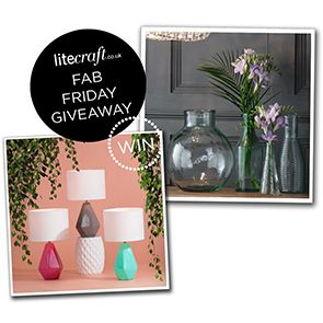COMPETITION: WIN A FUCHSIA TROPIC INSPIRED LIGHT
