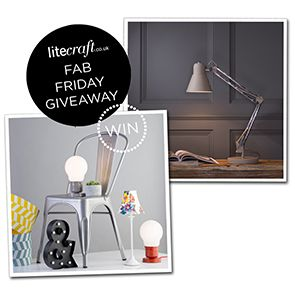 COMPETITION: WIN A BACK TO SCHOOL INSPIRED LIGHT