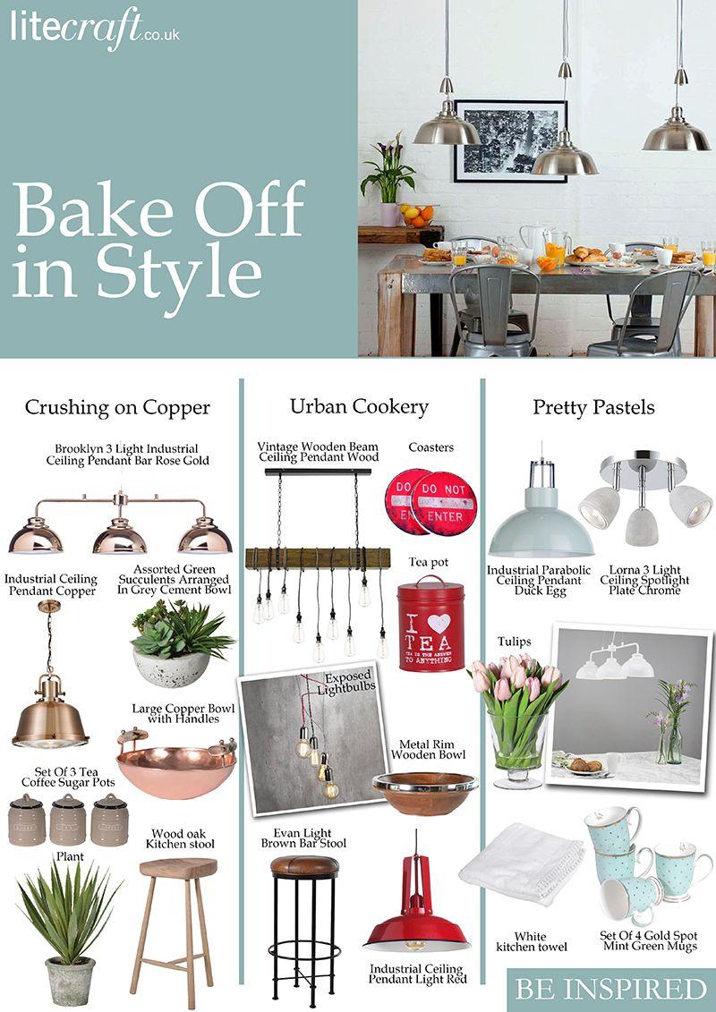 bake off inspired blog kitchen interiors lighting