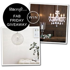 COMPETITION: WIN A BALLROOM SPARKLE INSPIRED LIGHT