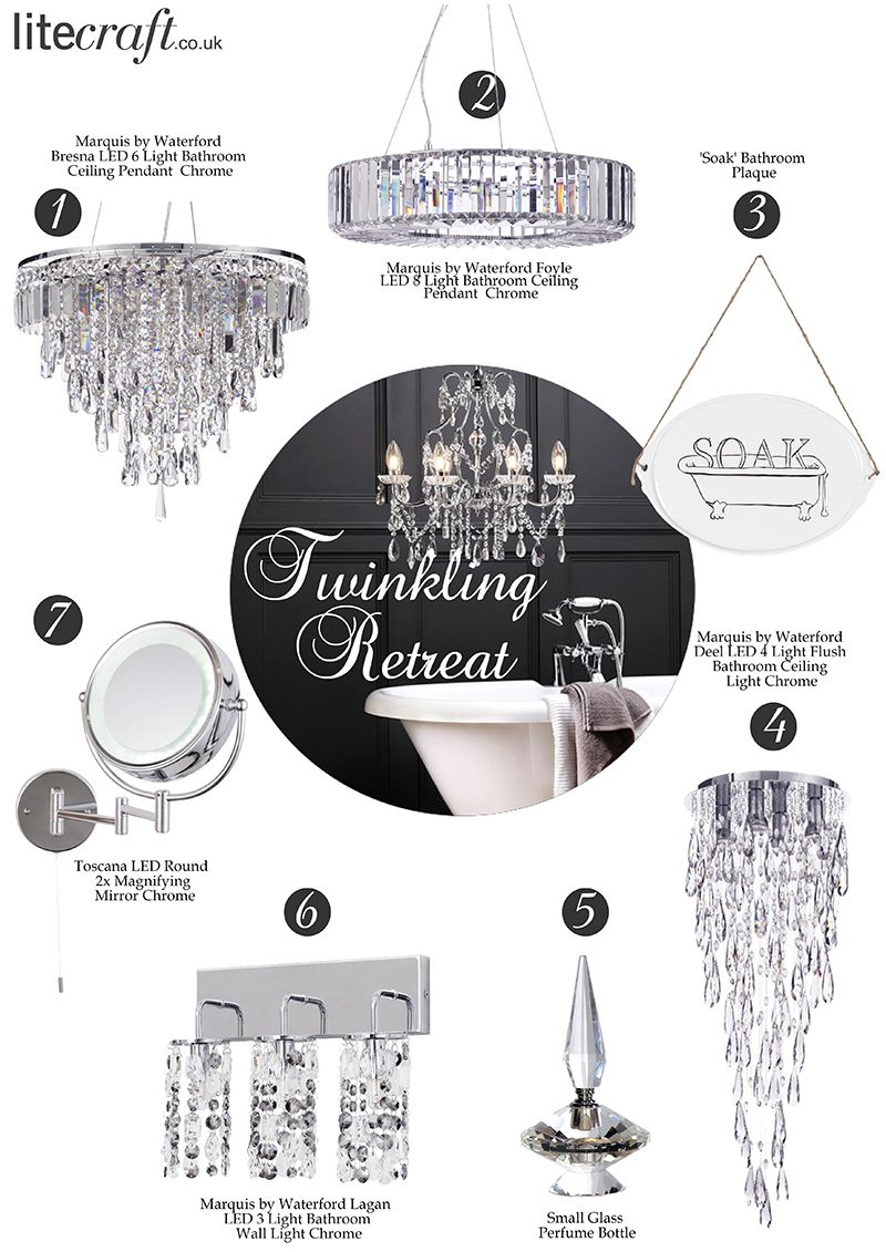 Marquis by Waterford Lighting Range for a Twinkling Retreat