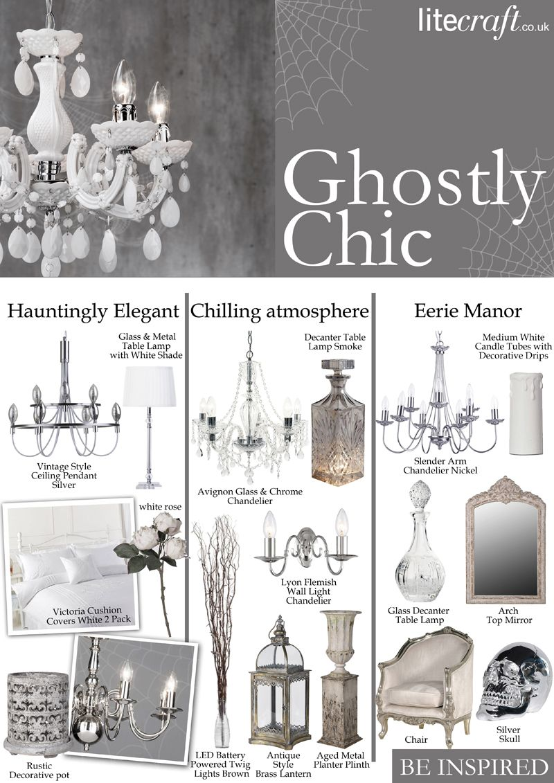 Halloween ghostly chic be inspired