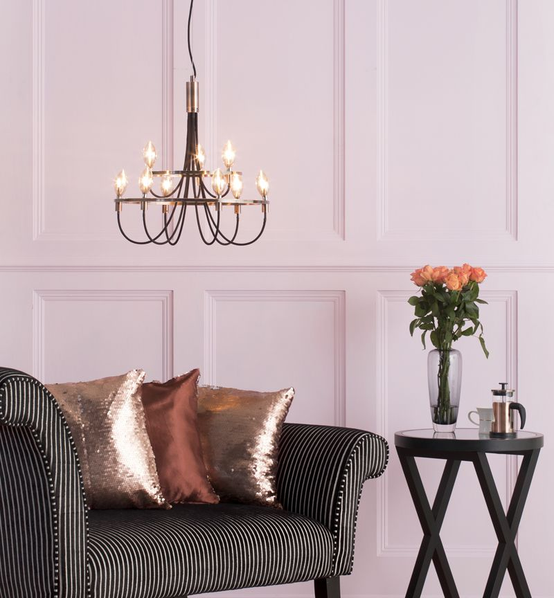 Autumnal Interior - Vintage Style Pendant