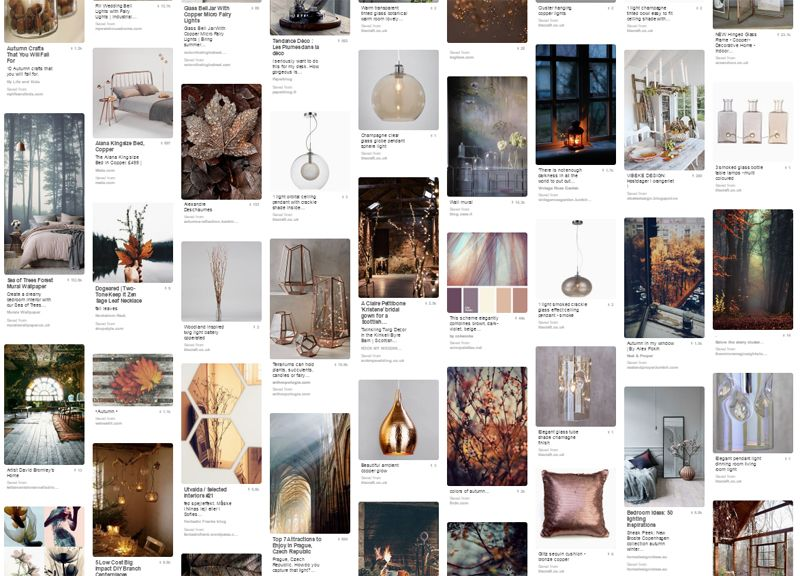 autumnal Interior ethereal pinterest