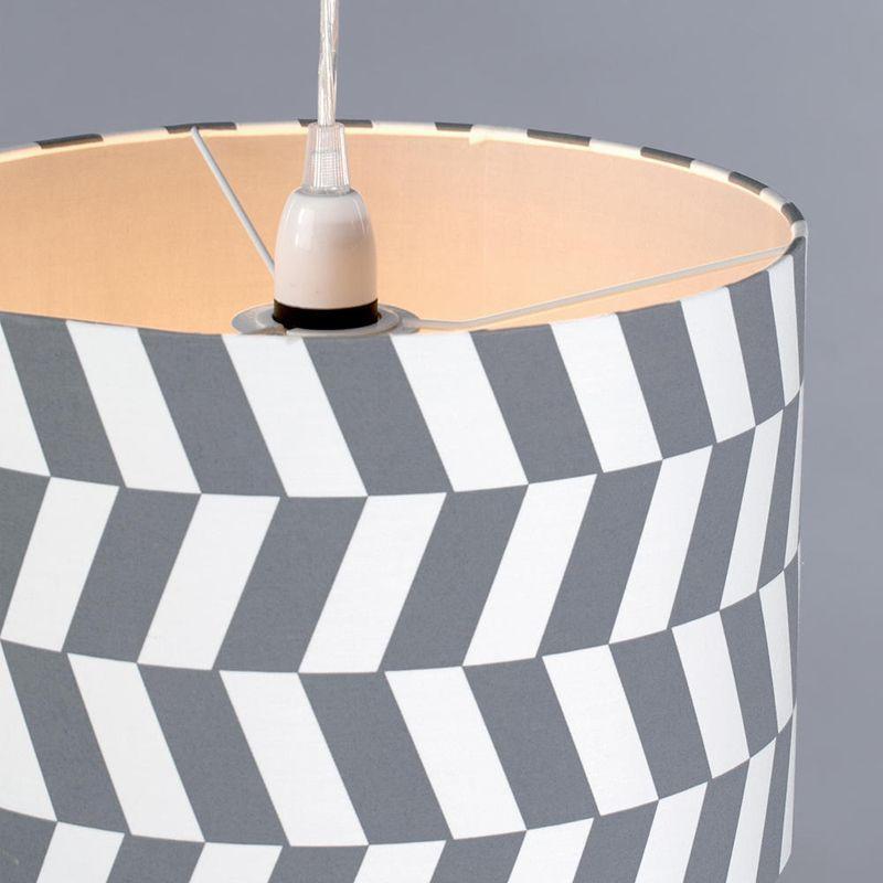 Geometric Drum Shade