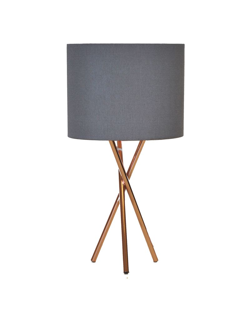 Matt Grey Copper Tripod