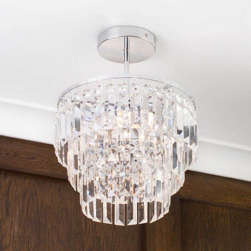 Vasca Bathroom Chandelier Closeup