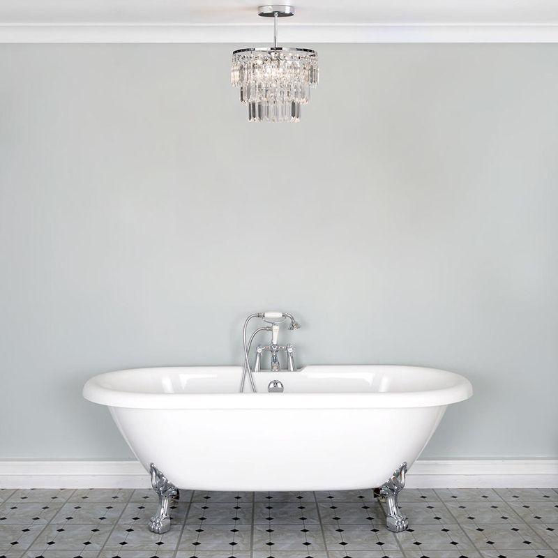 Vasc Bathroom Chandelier Lifestyle